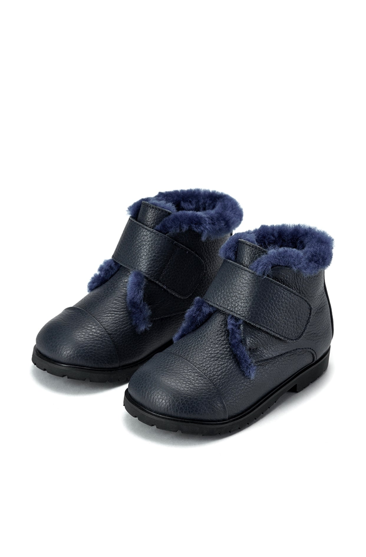 Age of Innocence Zoey Boots in Navy
