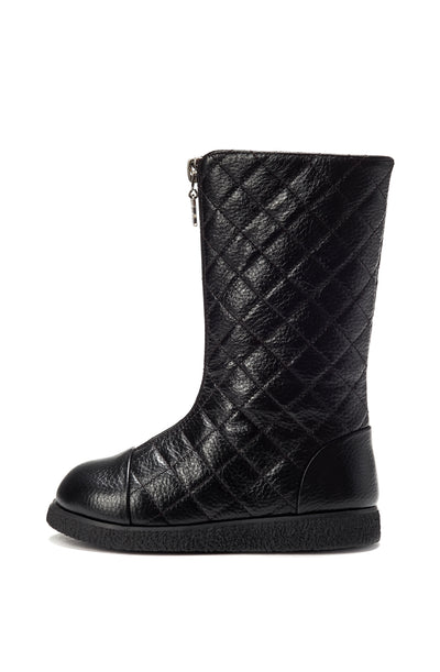 Age of Innocence Lily High Black boots