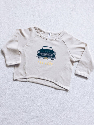 THE RIDE long sleeve top (beige)