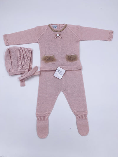 Carmen Taberner Dusty pink 3 piece set