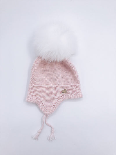 Beautiful Cashmere hat with tassels