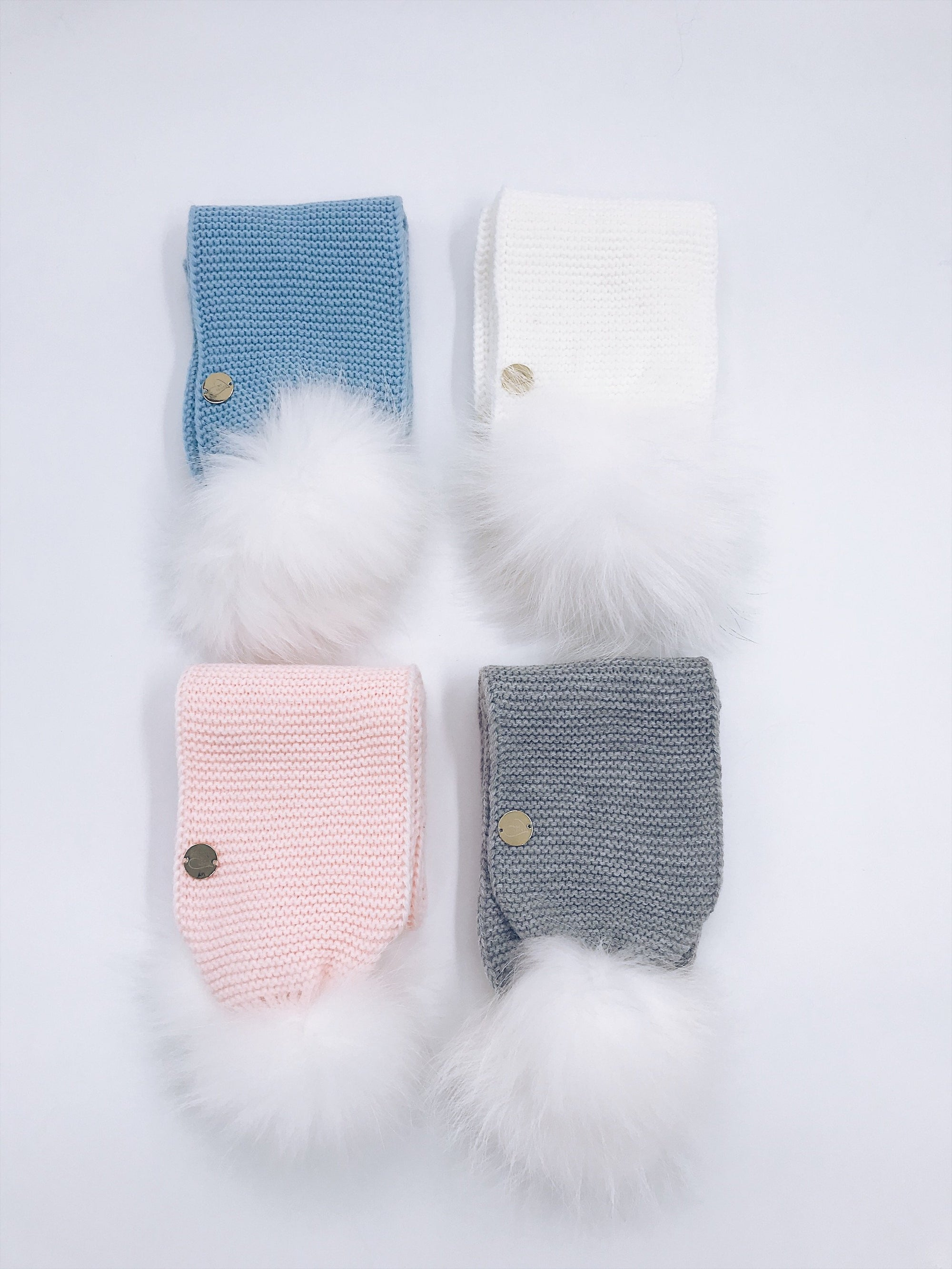 MILOVES Signature  pompom scarf  !!