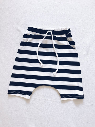 Stripes Harem Shorts