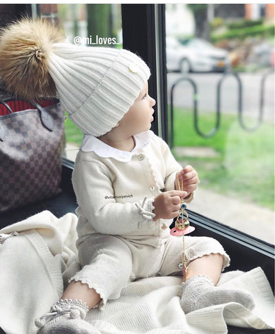 MILOVES SIGNATURE Cashmere Kids hat