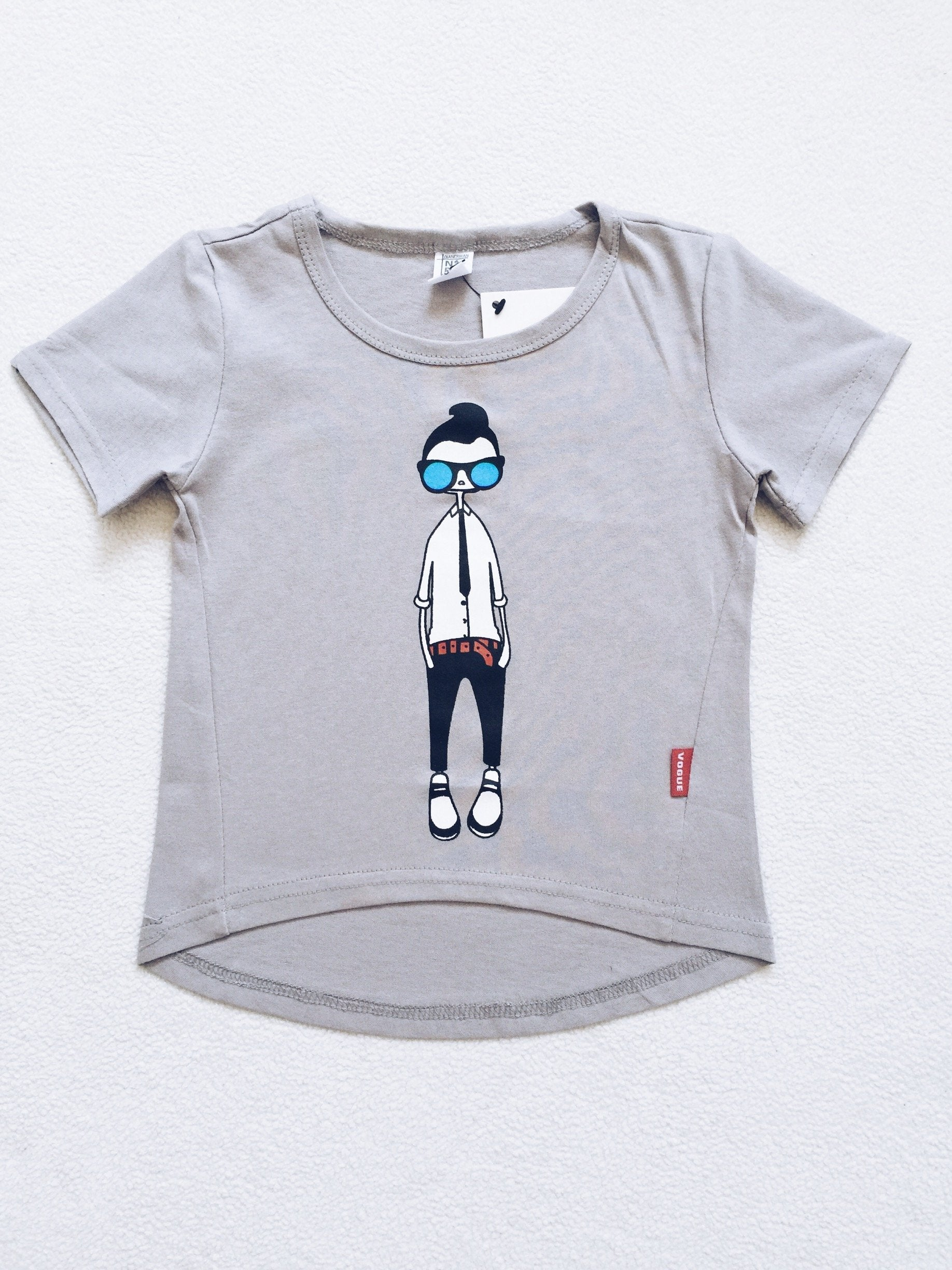 COOL DUDE T-Shirt Grey