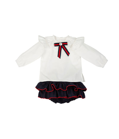 Rochy Beautiful Blouse-Bloomers 2 piece Set