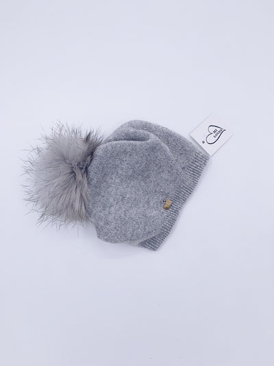 MI LOVES SIGNATURE RELAXED STYLE ADULT/BIG KIDS  BEANIE!!