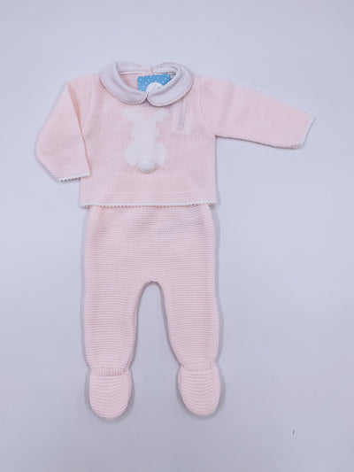 Beautiful Bunny knitted  2 piece set
