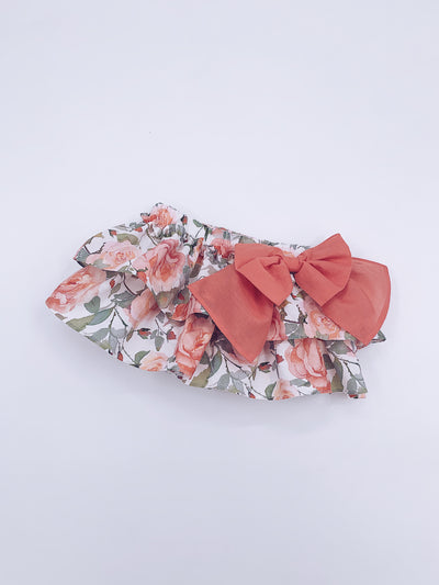 Beautiful Floral bloomers with Bow details