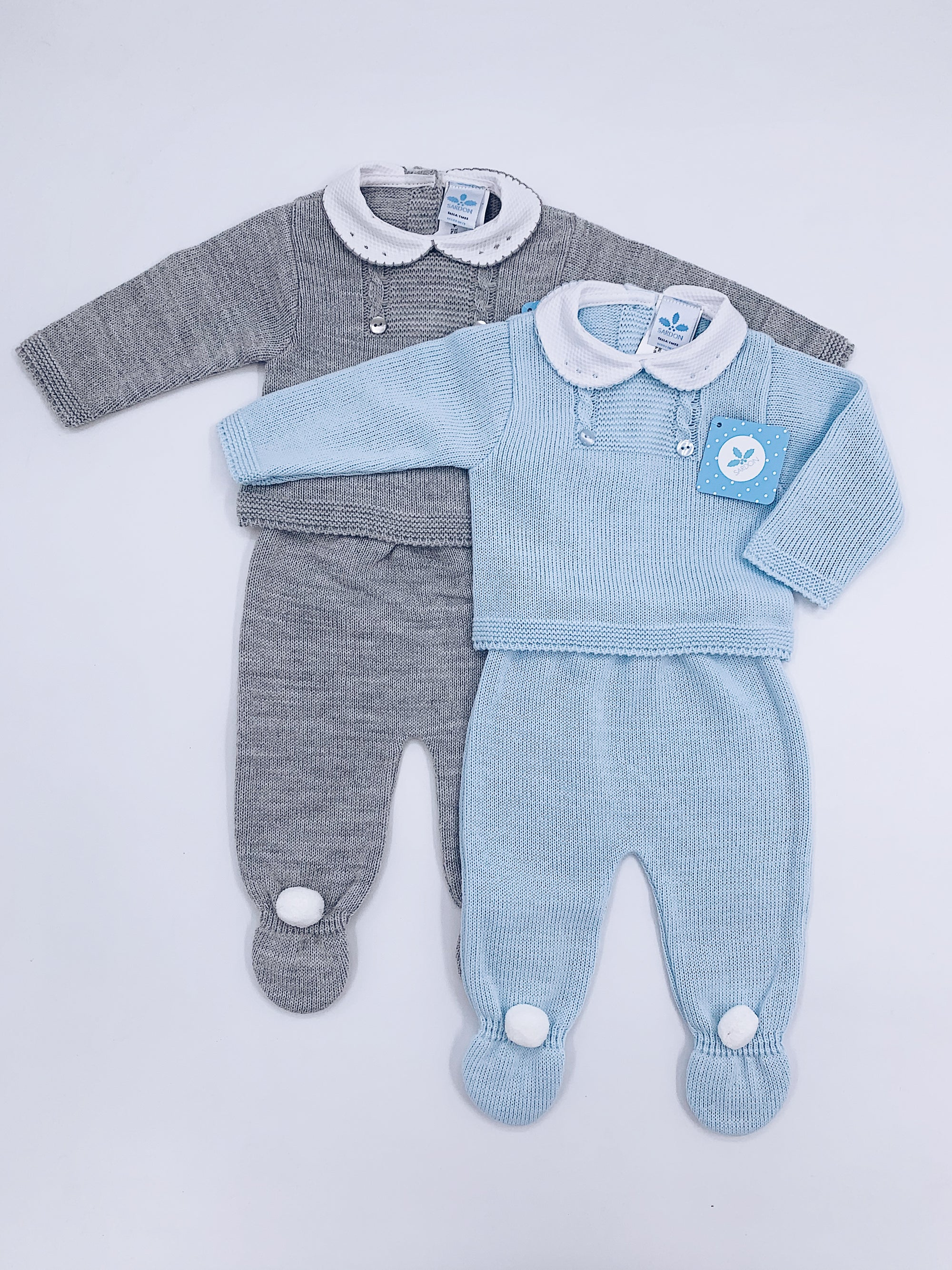 Knitted Baby 2 piece set (Top and leggings)