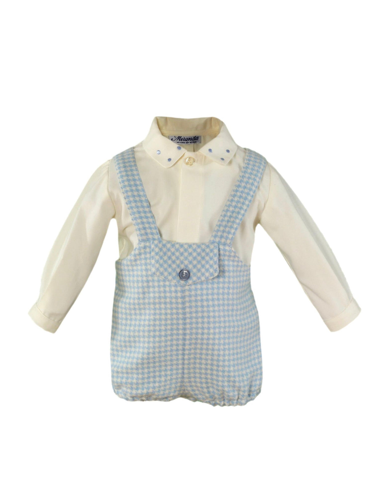 Beautiful baby boy dungarees/shirt 2 piece set