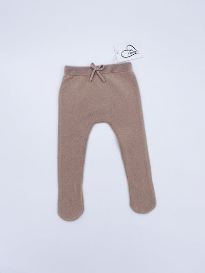 MI LOVES SIGNATURE Cashmere knit baby leggings