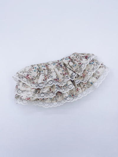 Beautiful floral print bloomers.