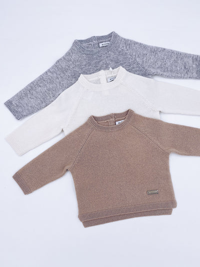 MI LOVES SIGNATURE Cashmere knit sweater