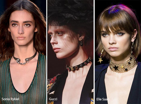 chokers in spring summer 2017