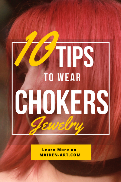 10 Tips to Wear Chokers Jewelry