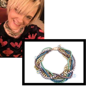Heidi Kelly wearing Maiden-Art jewelry