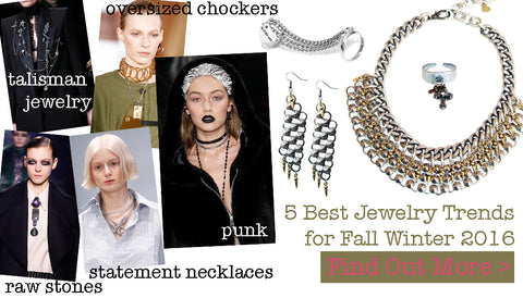 5 Best jewelry trends for Fall Winter 2016