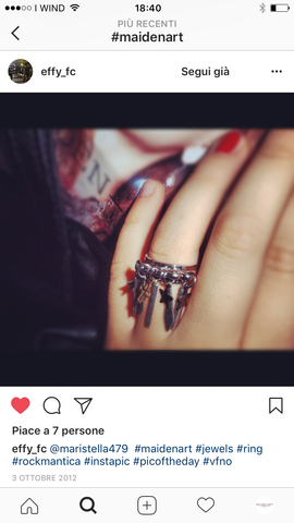 customer review on maiden-art ring
