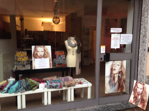Masoudi pop up shop at Maiden-Art boutique