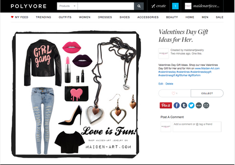 Valentines gift for her on polyvore