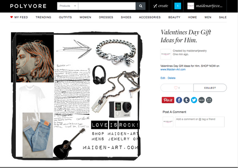 Valentines Gift Ideas for Him on Polyvore