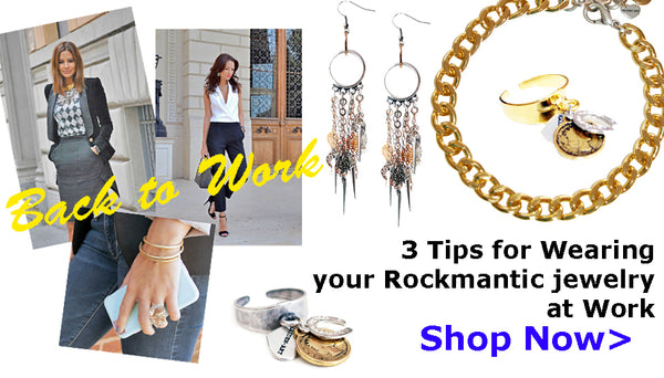 3 Tips fro wearing jewelry at work