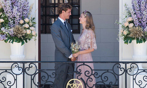 Beatrice Borromeo's wedding dress