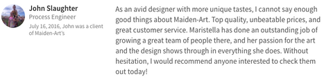 maidenart jewelry review from customers