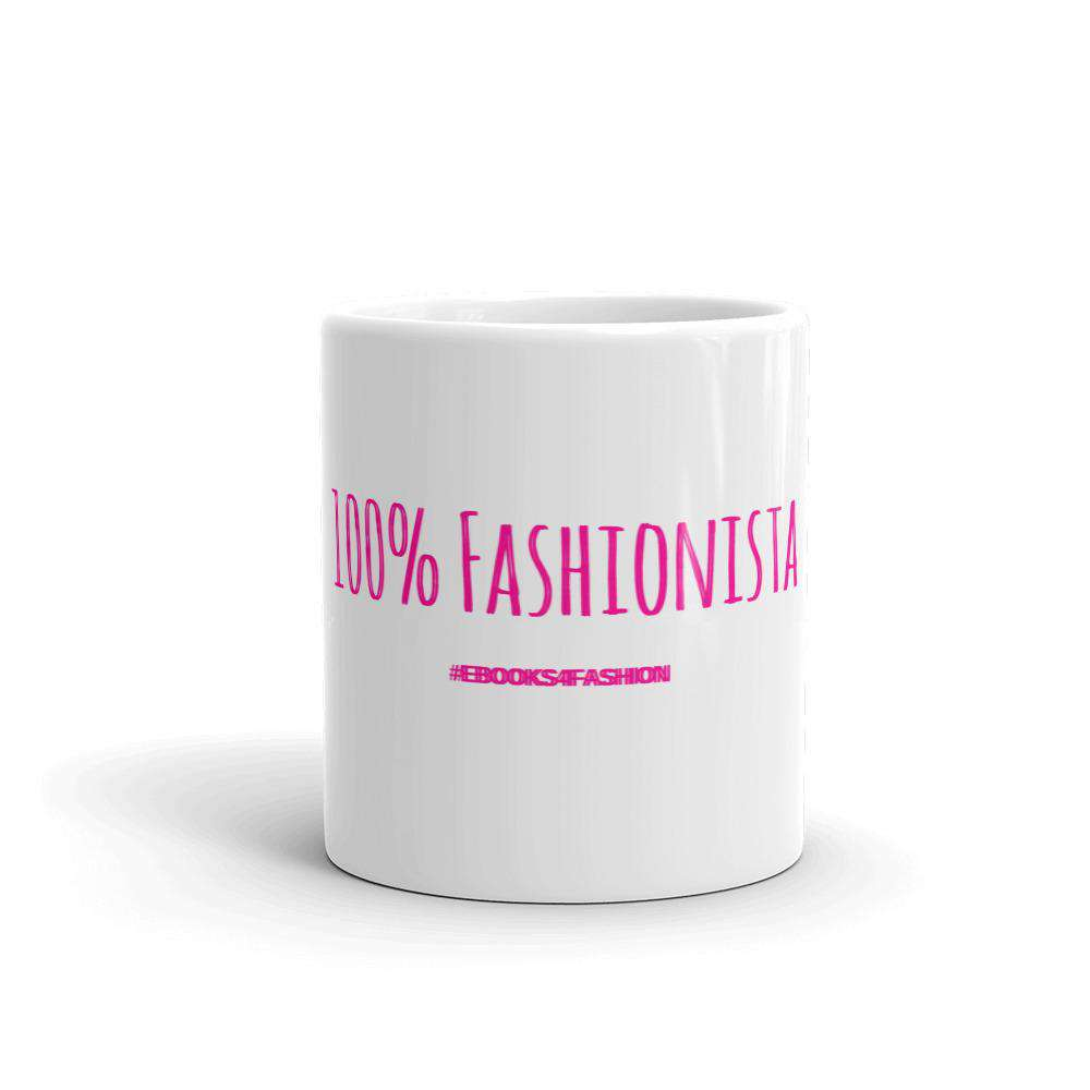 100% Fashionista Mug - Maiden-Art