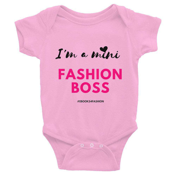 I'm a Mini Fashion Boss - Infant Bodysuit - Colors - Maiden-Art.com