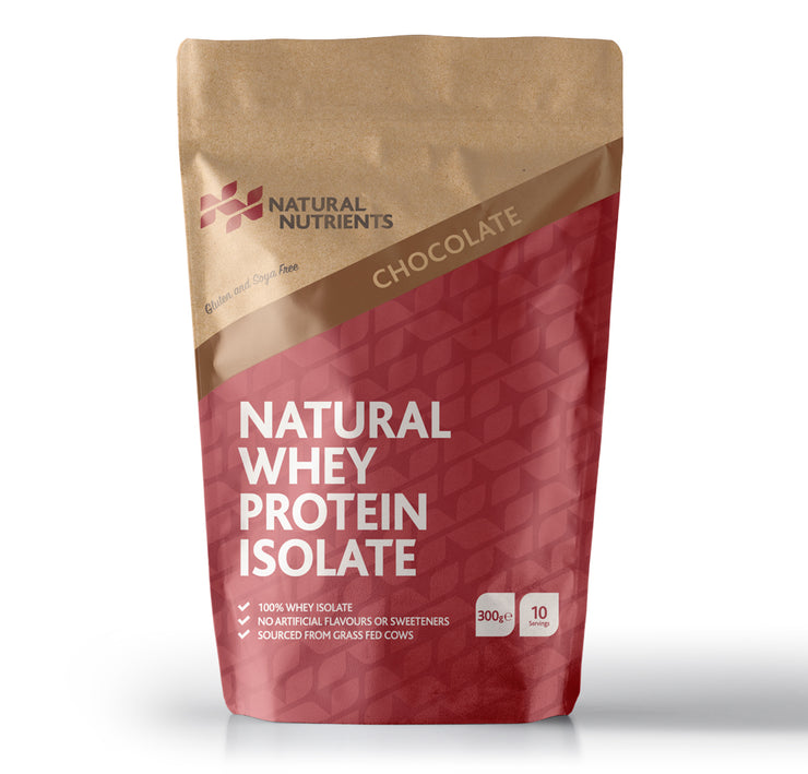 Natural Whey Protein Isolate | Grass Fed | Chocolate Flavoured Powder
