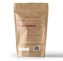 Load image into Gallery viewer, Natural Whey Protein Isolate | Grass Fed | Chocolate Flavoured Powder - Back