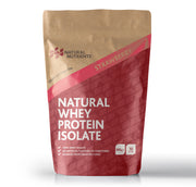 Natural Whey Protein Isolate| Grass Fed | Strawberry Flavoured Powder