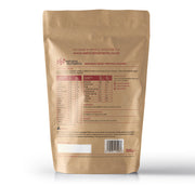 Natural Whey Protein Isolate | Grass Fed | Unflavoured Powder - Back