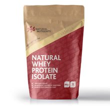 Load image into Gallery viewer, Natural Whey Protein Isolate | Grass Fed | Vanilla Flavoured Powder