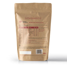 Load image into Gallery viewer, Natural Whey Protein Isolate | Grass Fed | Vanilla Flavoured Powder - Back