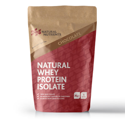 Natural Whey Protein Sample - Chocolate Flavour 30G