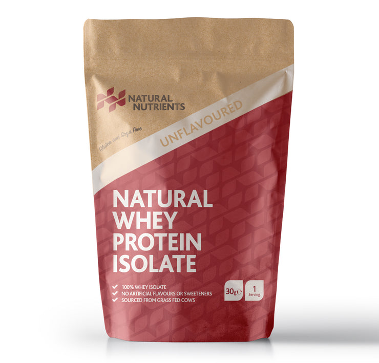 Natural Whey Protein Isolate - Unflavoured