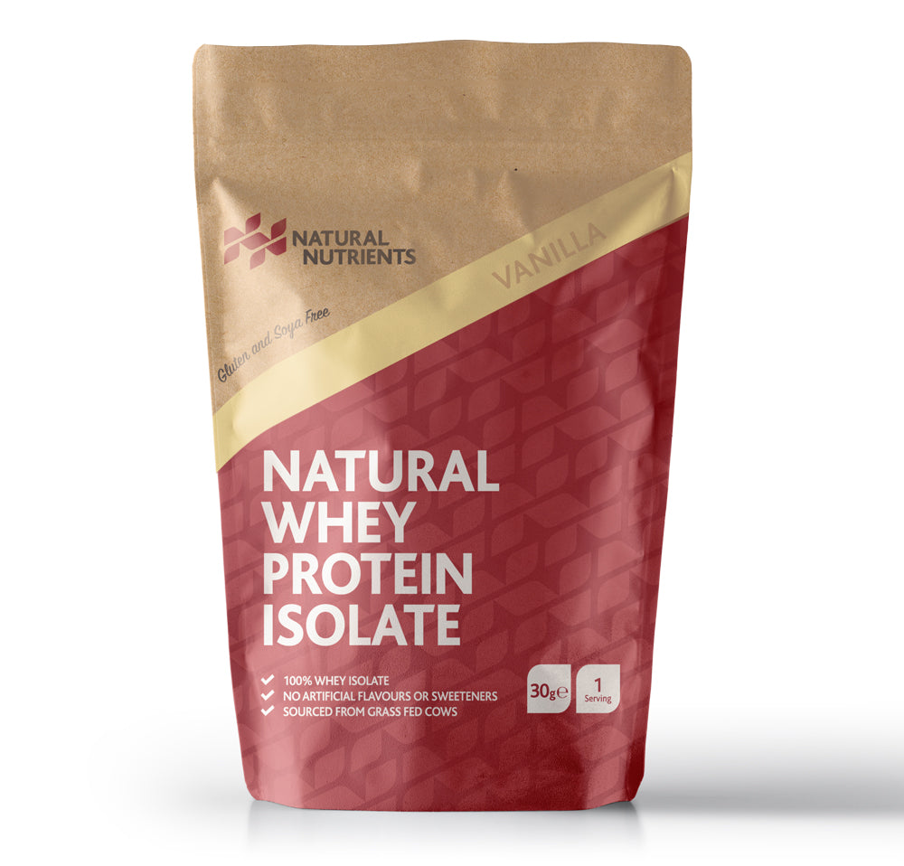 Natural Whey Protein Isolate - Vanilla Flavour
