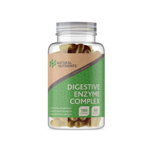 Digestive Enzymes Supplement -180 Capsules