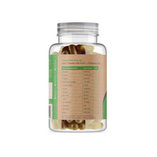 Load image into Gallery viewer, Digestive Enzymes Supplement -180 Capsules - Back