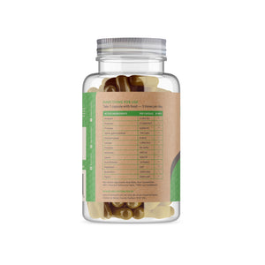 Digestive Enzymes Capsules - Back
