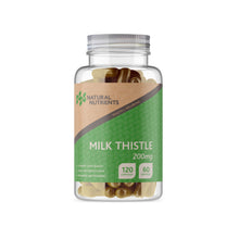 Load image into Gallery viewer, Milk Thistle Capsules - 120 Caps