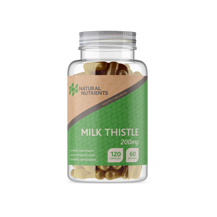 Milk Thistle Capsules - 120 Caps