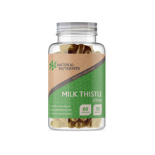 Load image into Gallery viewer, Milk Thistle - 60/120 Capsules