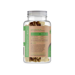 Milk Thistle Capsules - Back