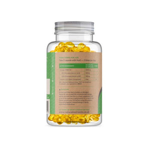High Strength Omega 3 Fish Oil Capsules - 1000mg