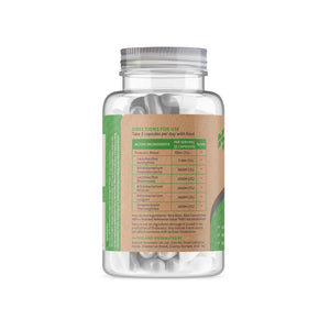 Probiotic Complex Supplement - Back