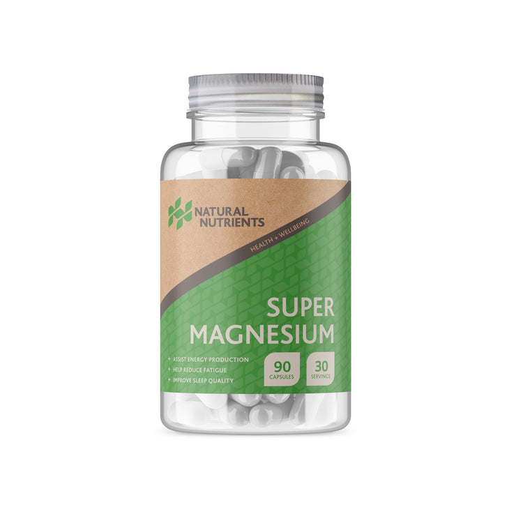 Magnesium Citrate and Bisglycinate Supplement